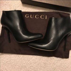 Gucci black stiletto boots